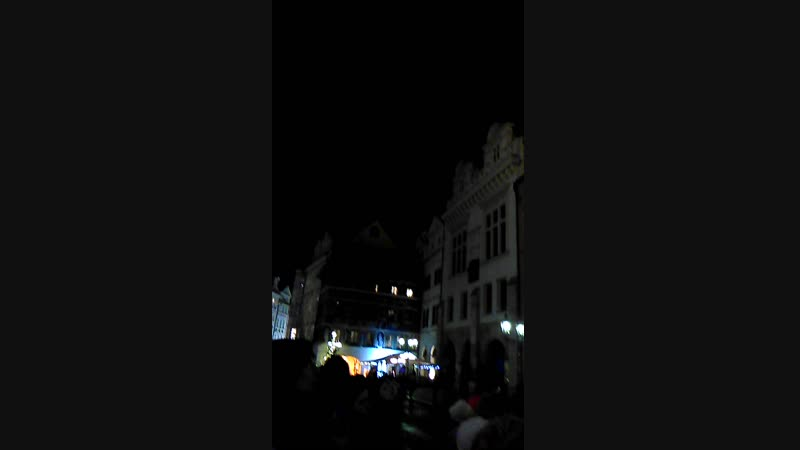 Прага.Староместская площадь.Астрономические часы Орлой.
