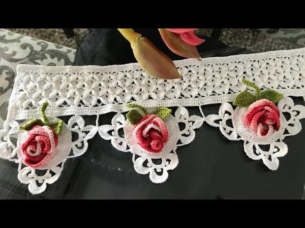 Barrado De Crochê RosaBella (Esclarecimentos sobre a peça)