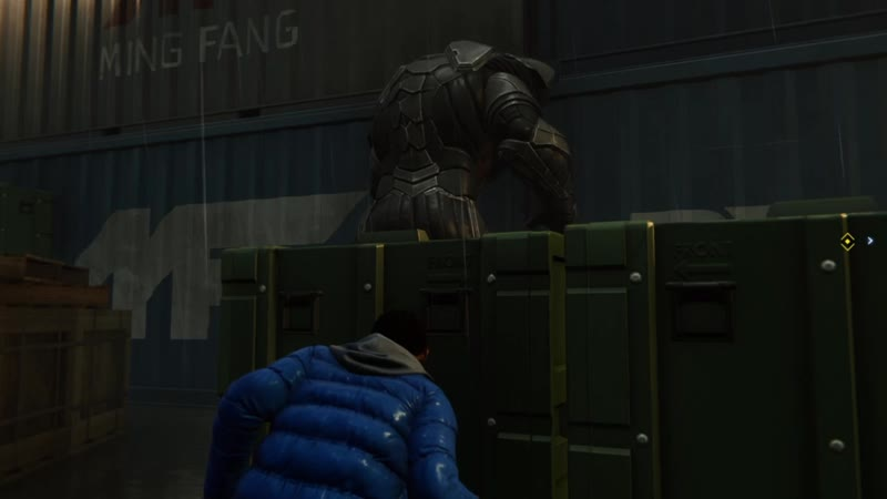 Глюк в игре Spider-Man (PS4)
