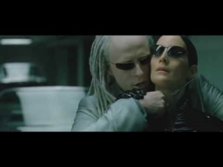 The Matrix Reloaded - Morpheus vs Twins