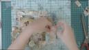 Скрапбукинг МК по страничке с использование природных материалов