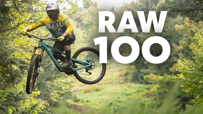 Richie Rude Blazes His Own MTB Trails | RAW 100