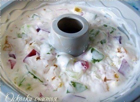 """Десерт """"Осколки счастья""""(желейный) Ингредиенты: - 3 пачки разноцветного желе(быстро"""