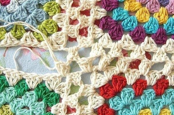 Способ вязания бабушкин квадрат крючком