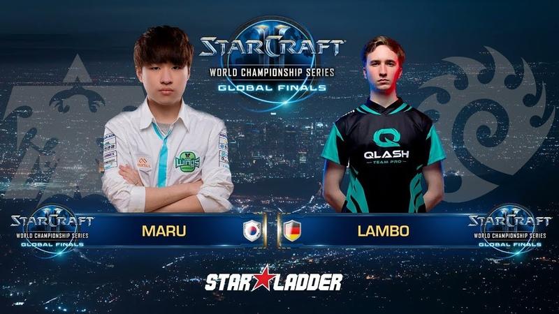 2018 WCS Global Finals Ro16, Group A, Match 1: Maru (T) vs Lambo (Z)