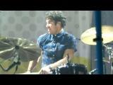 Darren Criss - Drumming on Stutter (Houston)