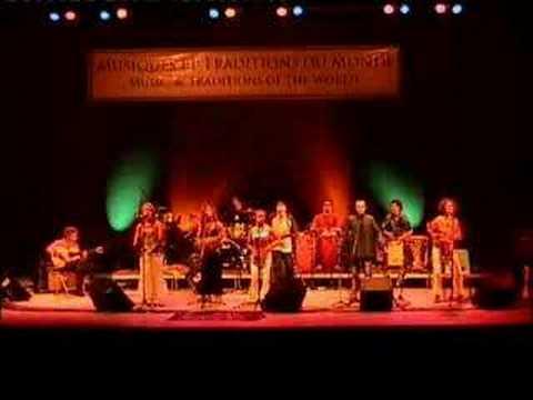 Bayuba Cante in Toronto 2001