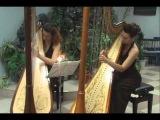 Petrina Hronia Πέτρινα χρόνια harp cover Дуэт арф Espressivo