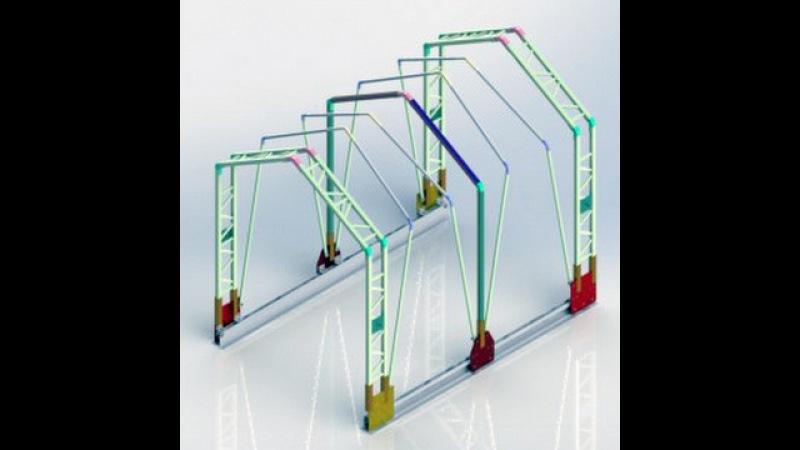 Retractable Tarp System Выдвижная система Tarp نظام القنب قابل للسحب