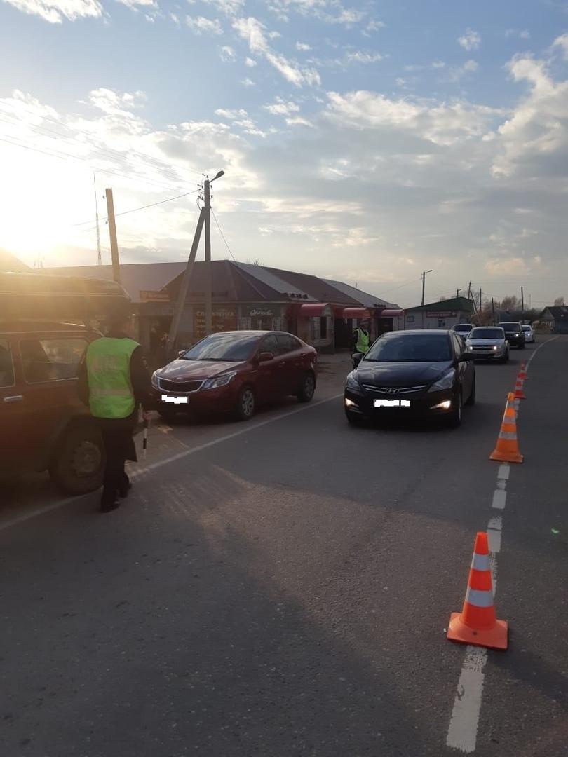 В Волжском районе прошла массовая проверка правил перевозки пассажиров