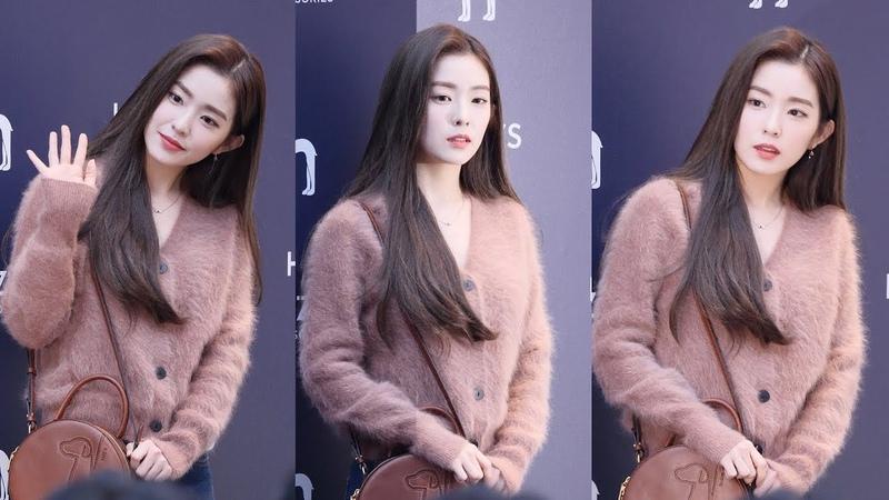 181122 레드벨벳 Red Velvet 아이린 IRENE 포토월 4K 60P 직캠 @ 헤지스 플래그쉽 스토어 오픈 기념 by Sp
