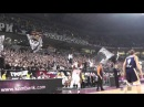 Grobari u Areni [navijanje] /Partizan -Budiveljnik 05.12.2013