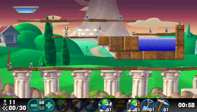 Игра Lemmings для Vita доступна в PlayStation Mobile