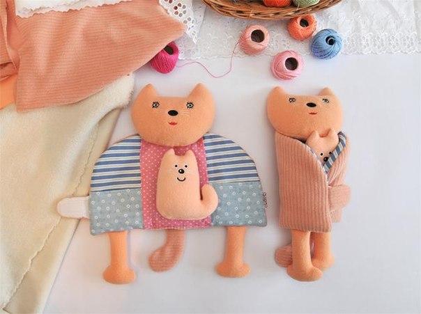 Чудесная и простая идея для игрушки (6 фото)