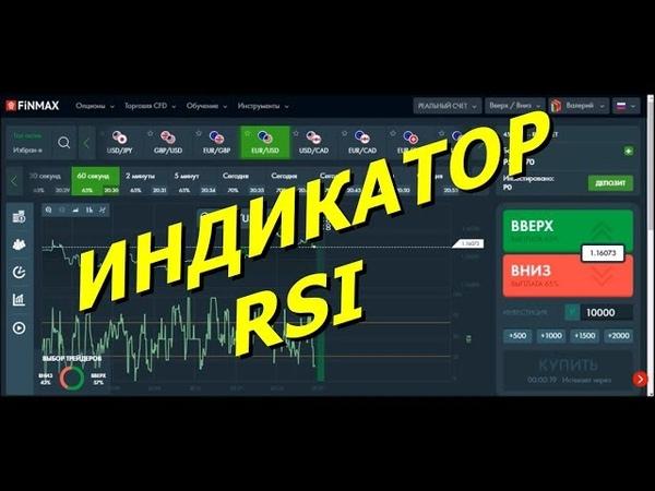 Как заработать деньги на бинарных опционах с помощью индикатора RSI. Форекс или бинарные опционы.