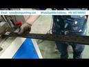 Iron Tube CNC Fully Automatic Punching Machine Hydraulic Ironworker