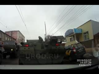 Курск авария БТР