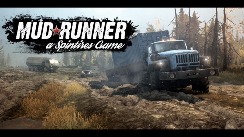 Spintires MudRunner (Карта - Кровавый перевал)