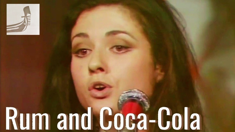 GIGLIOLA CINQUETTI in English RUM AND COCA-COLA 1975 (With Lyrics)