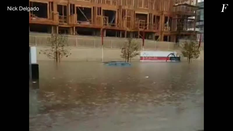 Мощный паводок в городе Коста Меса ¦ Flood in Costa Meca California december 2018