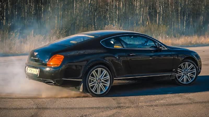 AcademeG Bentley с Японским двигателем рассыпается на ходу.