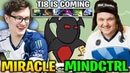 Miracle Shadow Fiend vs Mindcontrol Practicing Raze For TI8