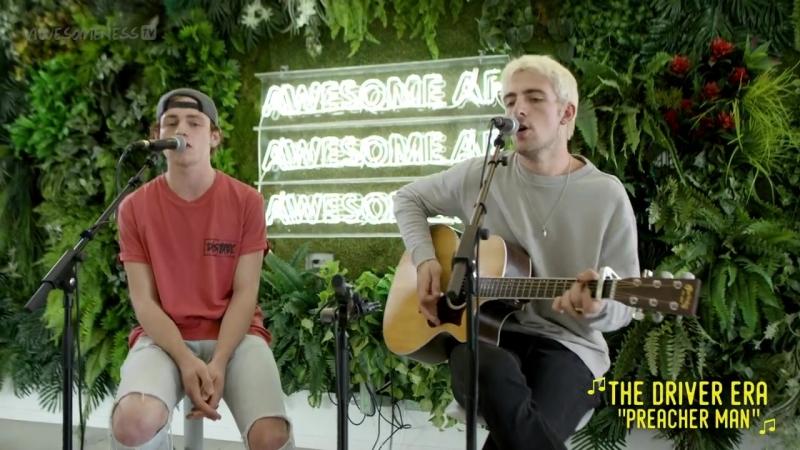 Выступление с песней Preacher Man в студии программы Awesomeness 24 мая 2018