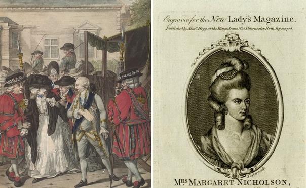 За что портниха и прачка Маргарет Николсон хотела убить короля Георга III. Судьбы простой лондонской портнихи Маргарет Николсон и короля Великобритании Георга III имеют удивительные сходства.