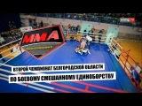 Второй чемпионат Белгородской области по смешанным боевым единоборствам ММА (выездная спортивная трансляция для телеканала Sming TV)