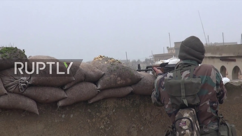Syria: Govt. forces hold Arima village, close to Manbij