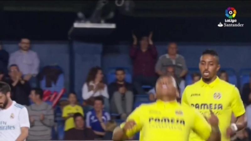 Гол Роджера Мартинеса в ворота «Реала».