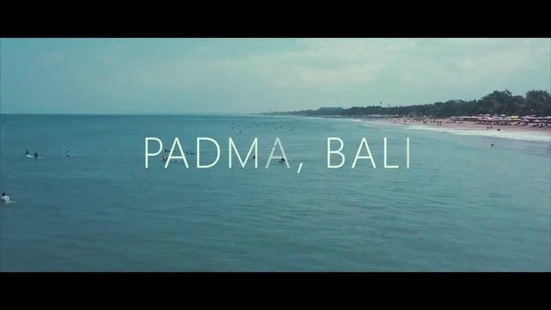 Bali surfing drone footage (Padma, Kuta)