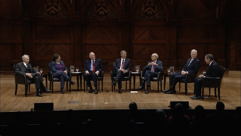 HLS in the World   A Conversation with Six Justices of the U.S. Supreme Court