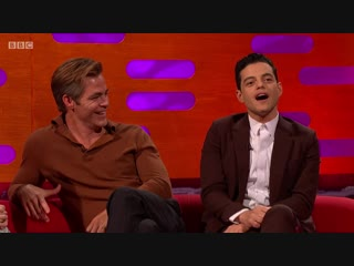The Graham Norton Show 24x04 - Sir Michael Caine, Sally Field, Rami Malek, Chris Pine, Christine and the Queens