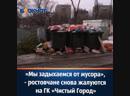 Мы задыхаемся от мусора ростовчане снова жалуются на ГК Чистый Город