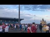 Болельщики собираются на матч Дания-Хорватия, но все радуются за наших- Типичный Нижний Новгород
