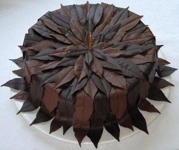 """Шоколадные листочки. Кулинарные рецепты """"ПоварЁшка!"""