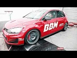 VIDEO BBM Motorsport Volkswagen Golf VII GTI Performance rodas BBS aro 19 2.0 Turbo 300 cv 45 mkgf