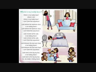Where is my teddy bear [Family and Friends 2, Unit 3- I can ride the bike!]