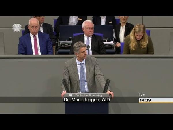 LINKE toben. Dr. Marc Jongen (AfD) rechnet knallhart mit den Verbrechen der SOZIALISTEN ab. 31.1.18