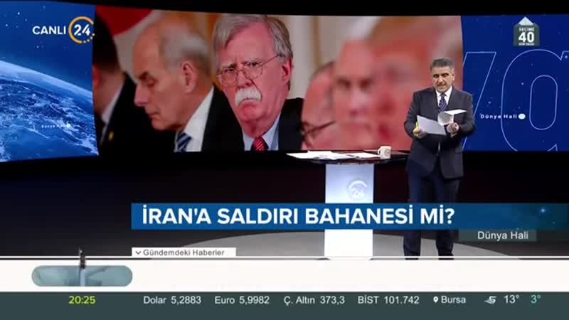 Selim Atalay ile Dünya Hali (19.02.2019)