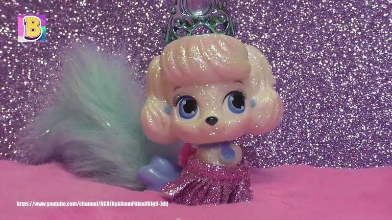 Открываем Питомца Куклы Принцессы Щеночека Тыковку Мультик Про Кукол и Игрушки от Disney Дисней