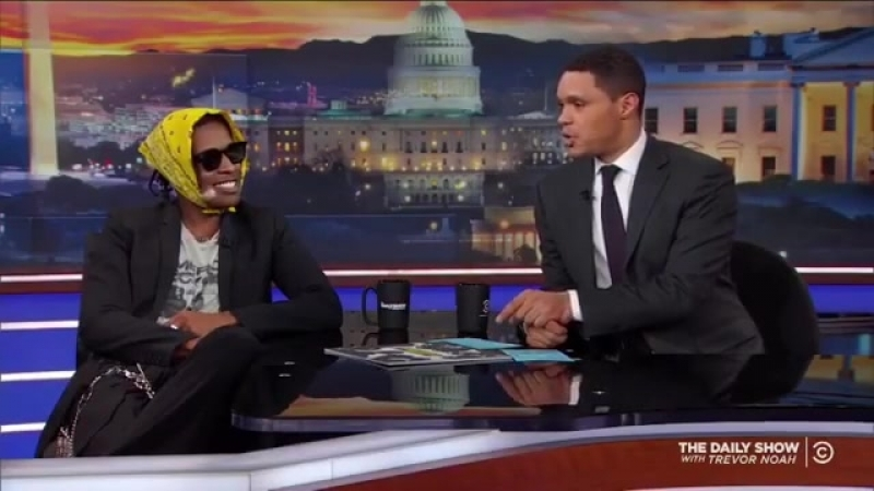 @asaprocky on @thedailyshow