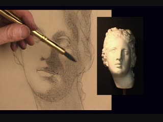 ArtAcademy - Beginning to Draw DVD - 3. The Cast - Intoduction to Portrait Drawing_6