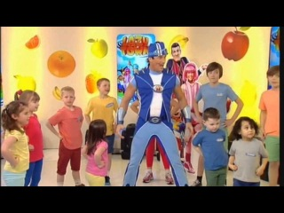 LazyTown - Sportacus on TV show, GB /�������� - ��-��� �� �����������, �������������� (Megalicense)