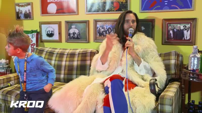8/12/2018. Interview KROQ Absolute Almost Acoustic Christmas. Лос-Анджелес, США