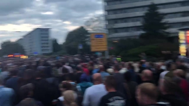 Wirwerdenmehrundmehr AfD zeigt Chemnitz am 01 09 2018 keine Nazis dabei