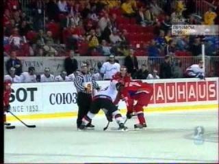 ЧМ по хоккею 2006, Россия - Швейцария