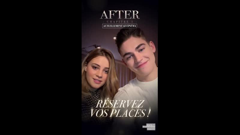 Джо и Хиро для французского дистрибьютора SNDfilms 17 апреля 2019