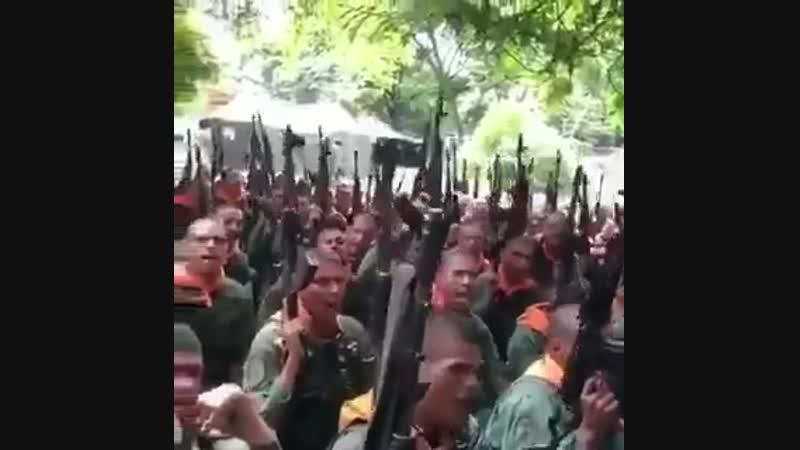 Военнослужащие армии Венесуэлы угрожают янки стать для них латиноамериканским Вьетнамом